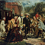 Adolph von Menzel - Frederick the Great on trips