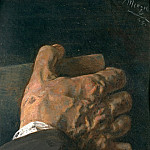 Hans von Marees - Hand with a Book