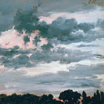 Fredinand Keller - Study of clouds