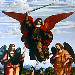 Pietro da Cortona - Three Archangels