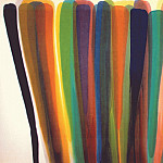 Morris Louis - louis while series ii 1959 60