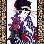 Ed Morgan - Geisha Throughthe Looking Glass