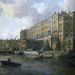 William Marlow - View of the Adelphi From the River Thames