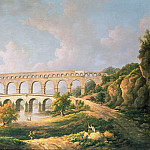 William Marlow - The Pont du Gard, Nimes