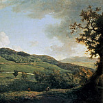 William Marlow - A view of Chatsworth
