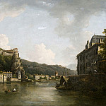 William Marlow - View of the Chateau de Pierre-Encise on the Rhone, Lyon