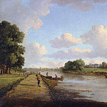William Marlow - View on the River Thames at Richmond (?)