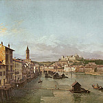 William Marlow - View of Verona