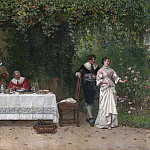 Alexandre-Gabriel Decamps - The Proposal