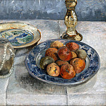 Lovis Corinth - Still Life with Apples