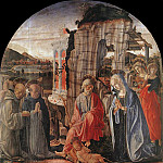 Francesco di Giorgio Martini - Nativity 1475