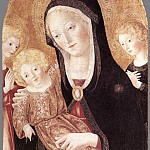 Francesco di Giorgio Martini - Madonna And Child With Two Angels