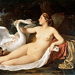 Lorenzo Lotto - Leda and the Swan