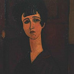 Amedeo Modigliani - Modigliani Portrait of a girl, ca 1917, Tate gallery