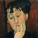 Amedeo Modigliani - Head of Marthe