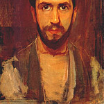 Piet Mondrian - self portrait c1900