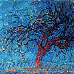 Piet Mondrian - Piet The red tree
