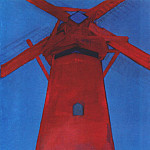 Piet Mondrian - the red mill 1910-11