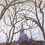 Piet Mondrian - church c1898