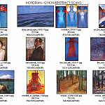 Piet Mondrian - thumbnails_mondrian_non-abstract
