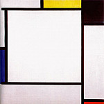 Piet Mondrian - composition 2 1922
