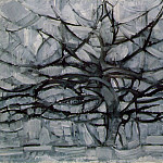 Piet Mondrian - 1911 Gray Tree