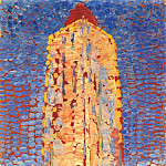 Piet Mondrian - lighthouse in westkapelle 1909