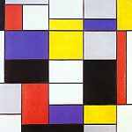 Piet Mondrian - 1923 Composition A