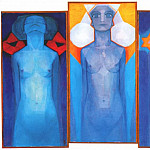Piet Mondrian - evolution 1910-11