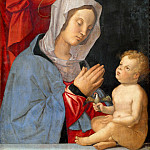 Giovanni Battista Gaulli Baciccio - Madonna and Child
