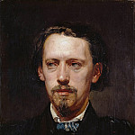 The painter Heinrich Heger