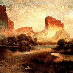 Thomas Moran - Green River Valley WY 1885