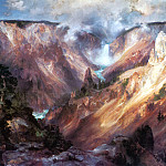 Thomas Moran - Grand Canyon of Yellowstone