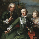 Carl Gustaf Tessin, Ulla Sparre of Sundby and Brita Stina Sparre