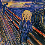 Edvard Munch - The Scream, ver. 1895