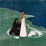 Edvard Munch - Women at the beach