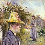 Edvard Munch - Edvard Sisters In The Garden