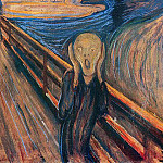 Edvard Munch - The Scream. ver. 1893