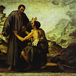 Bartolome Esteban Murillo - Brother Juniper and the Beggar