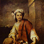Bartolome Esteban Murillo - Flower Seller