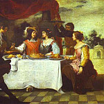 Bartolome Esteban Murillo - The Prodigal Son Feasting with Courtesans