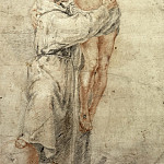Bartolome Esteban Murillo - St Francis Rejecting the World and Embracing Christ
