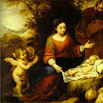 Bartolome Esteban Murillo - Rest on the Flight into Egypt