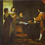 Bartolome Esteban Murillo - The Prodigal Son Receiving His Portion of Inheritance