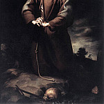 Bartolome Esteban Murillo - St Francis of Assisi at Prayer