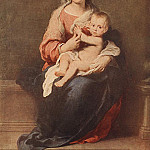 Bartolome Esteban Murillo - Madonna and Child c1670