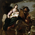 Michael Sweerts - The Flight into Egypt