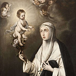 Bartolome Esteban Murillo - St Rosa of Lima [After]