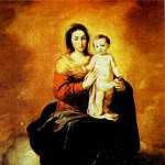 Bartolome Esteban Murillo - Madonna in the Clouds