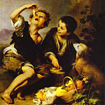 Bartolome Esteban Murillo - The Pie Eater